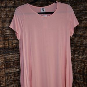light pink swing tunic